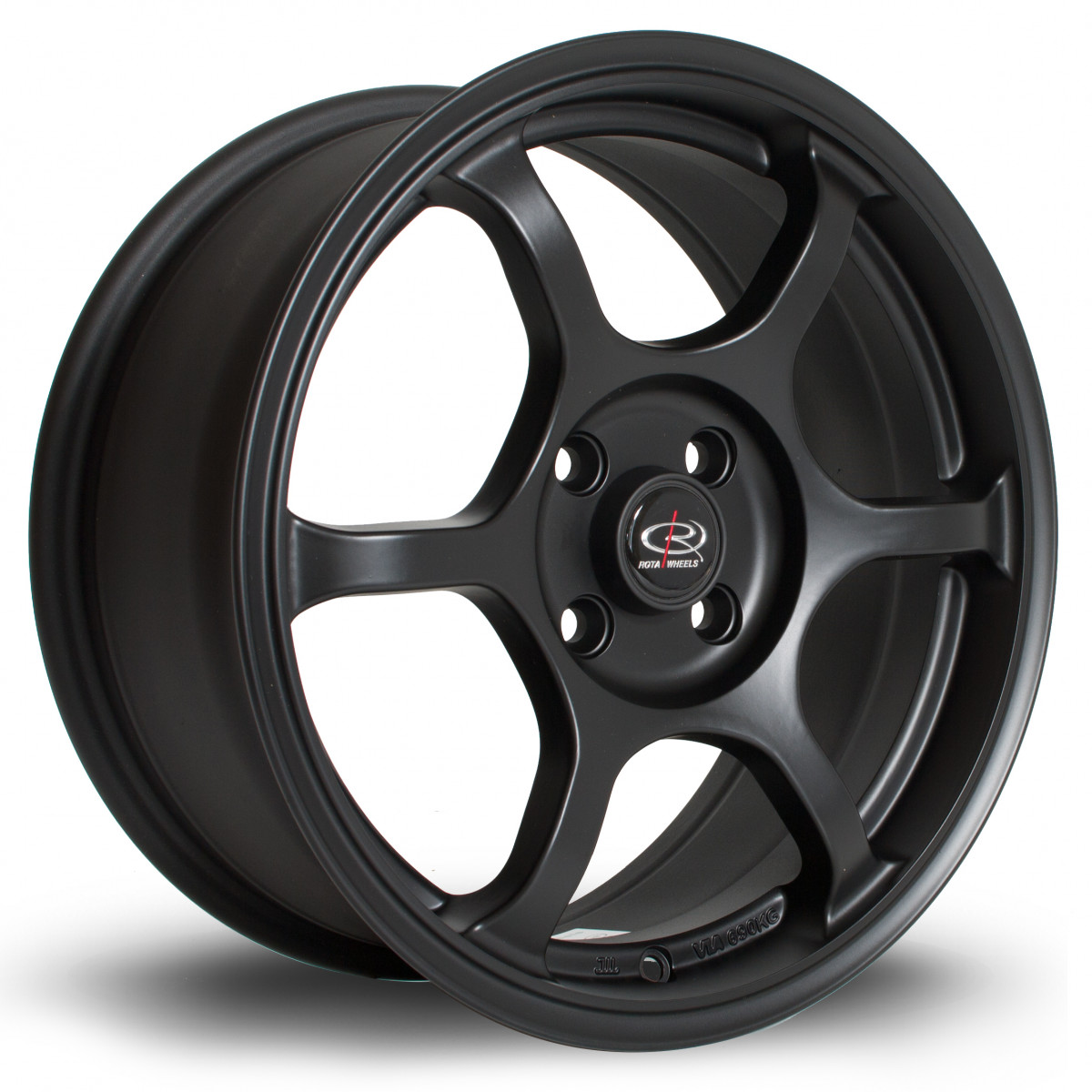 Boost 16x7 4x100 ET45 Flat Black