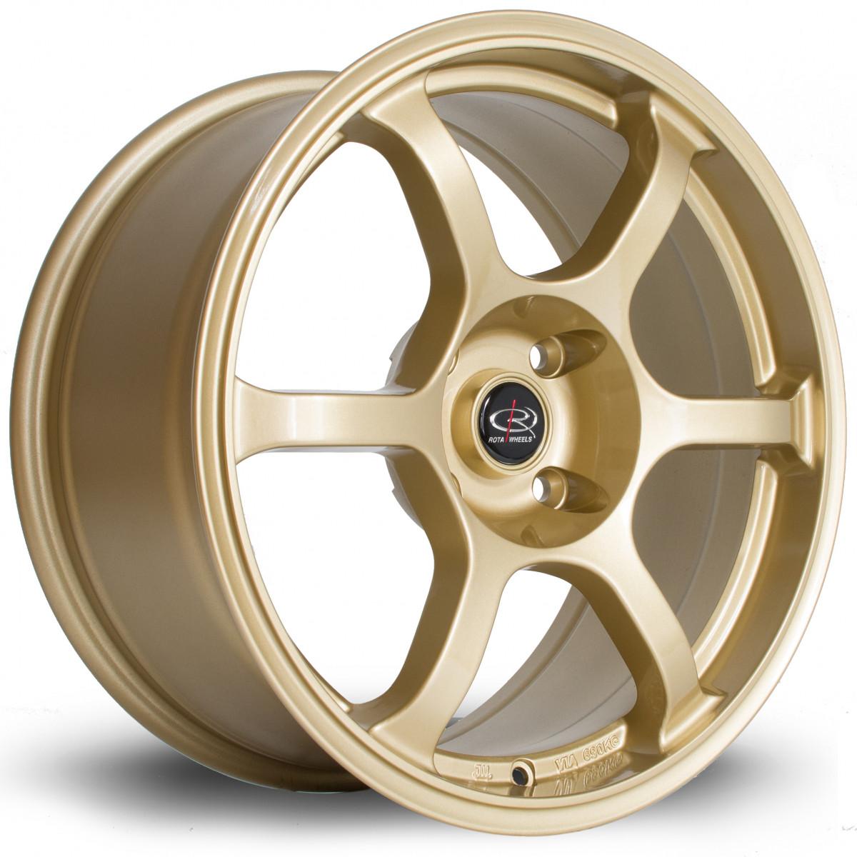 Boost 17x7.5 4x114 ET48 Gold