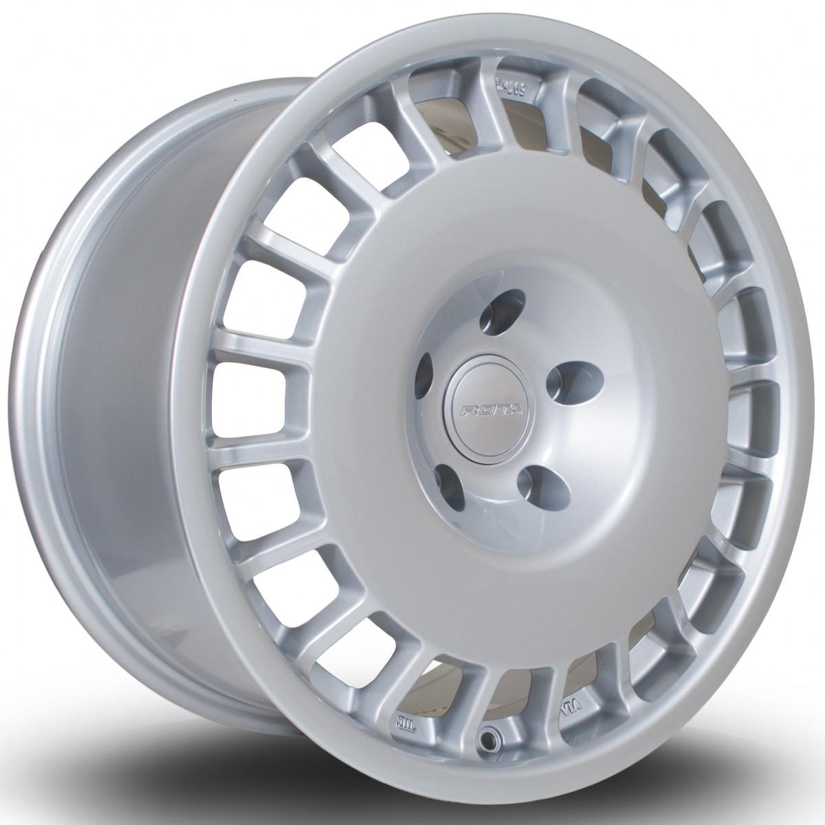 D154 17x8 4x108 ET42 Silver