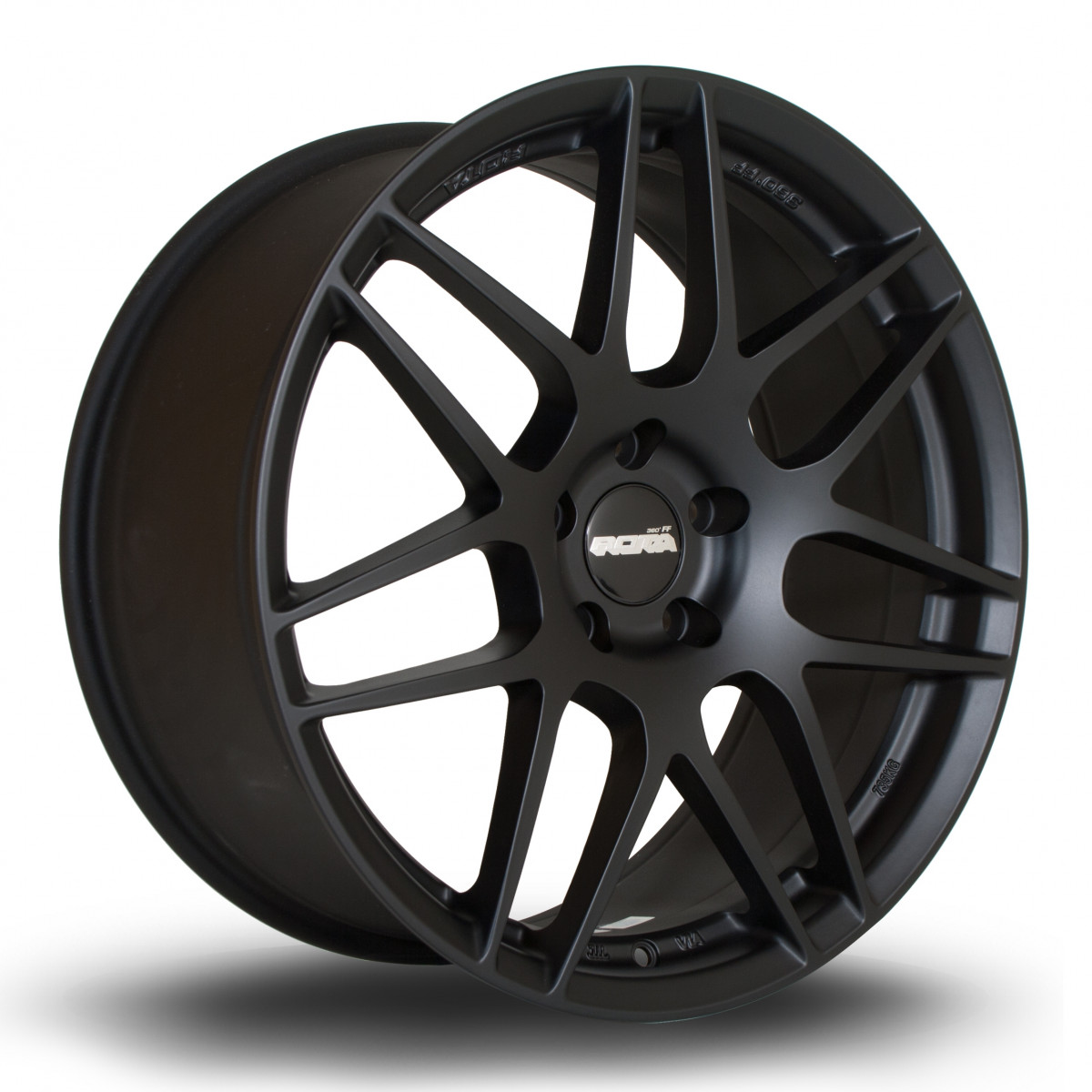 FF01 19x8.5 5x112 ET45 Flat Black