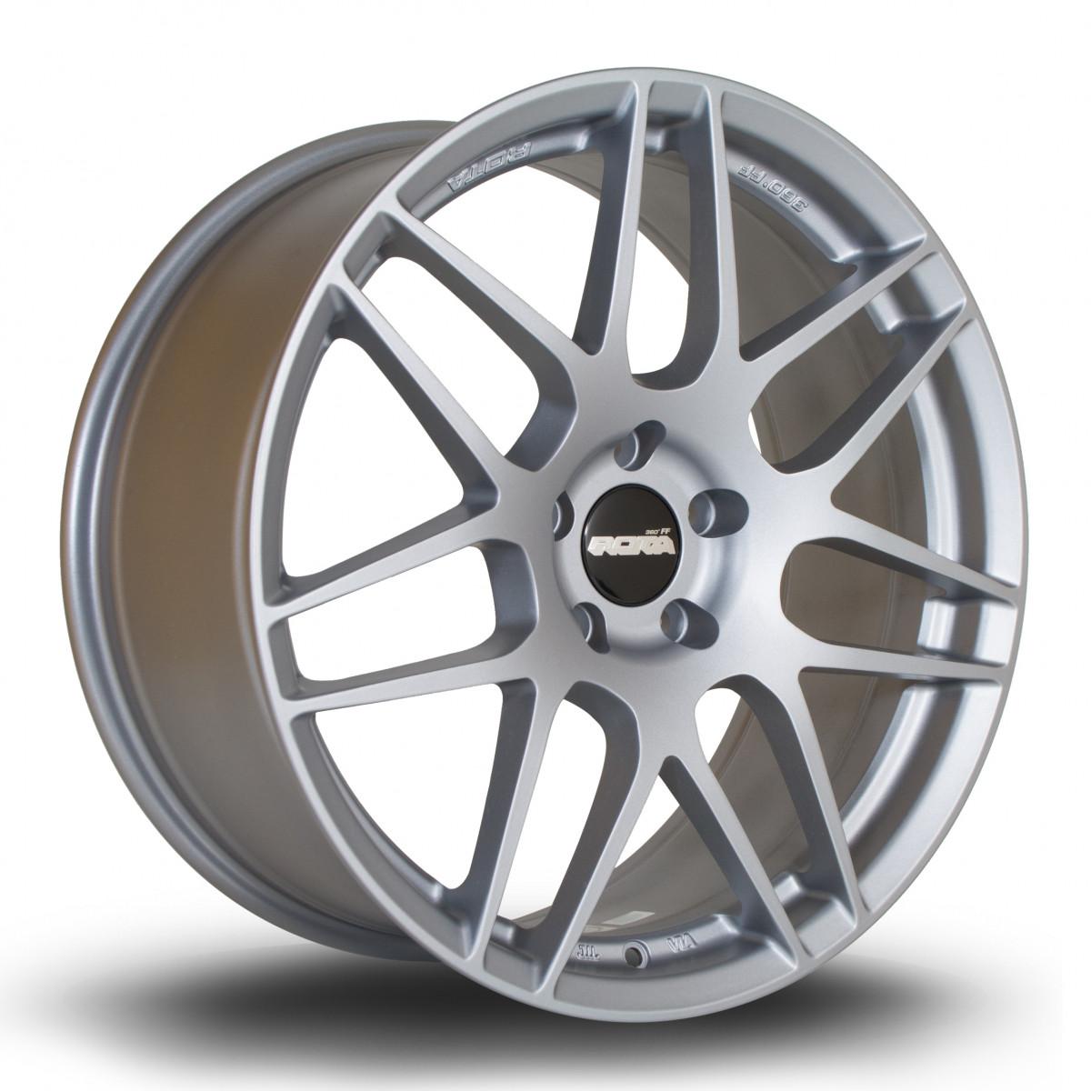 FF01 19x8.5 5x120 ET33 Granite Silver