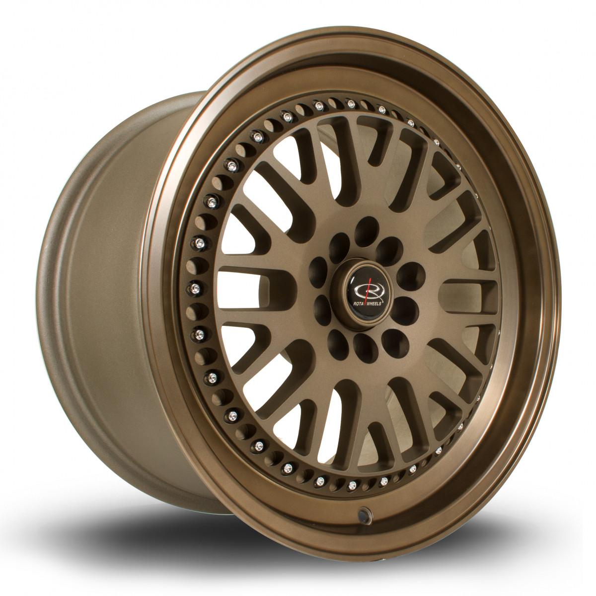 Flush 17x9.5 5x114 ET25 Speed Bronze