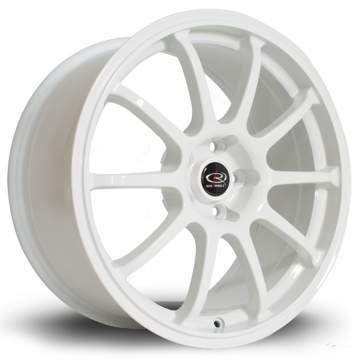 Force 17x7.5 5x114 ET45 White