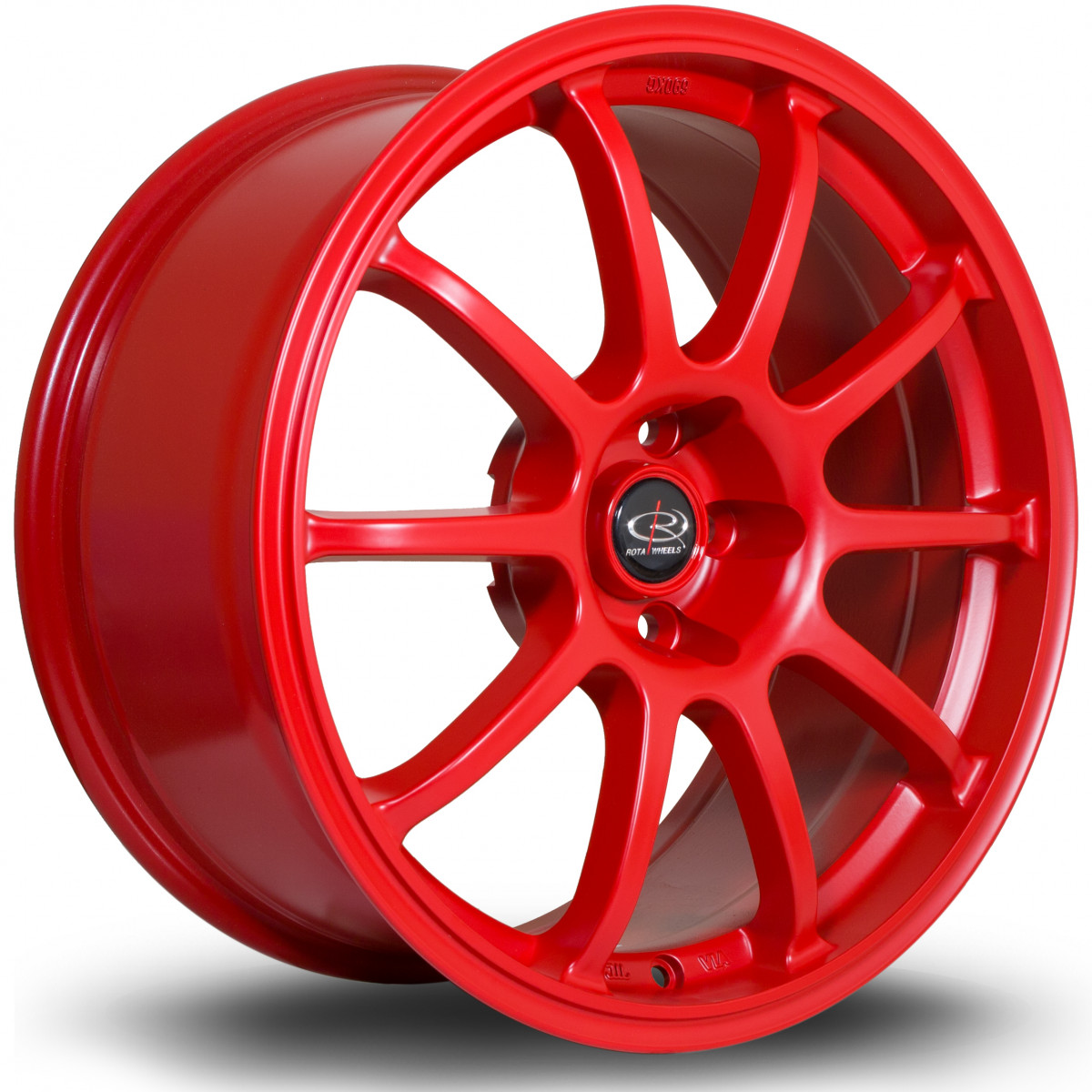 Force 17x8 5x100 ET35 Flat Red