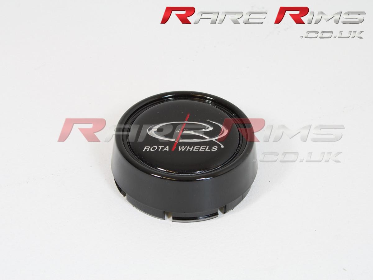Rota Centre Cap - Medium Top - Gloss Black