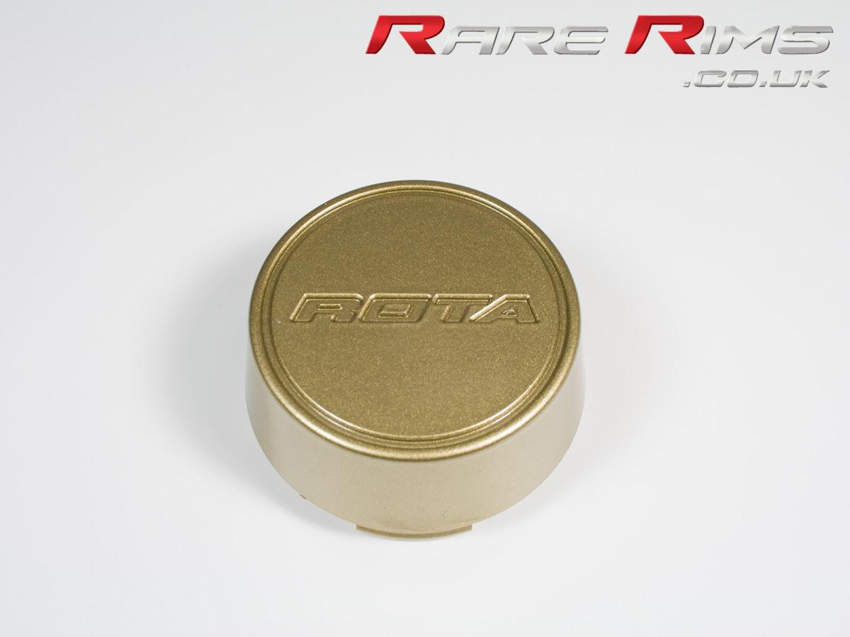 Rota Centre Cap - Embossed Medium Top - Gold