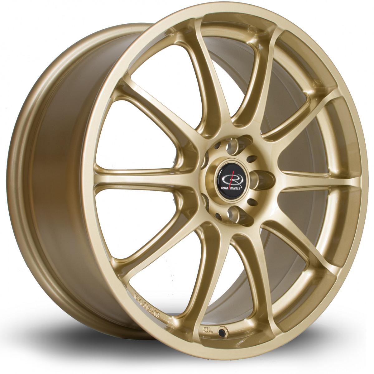 Gra 17x7.5 5x100 ET48 Gold