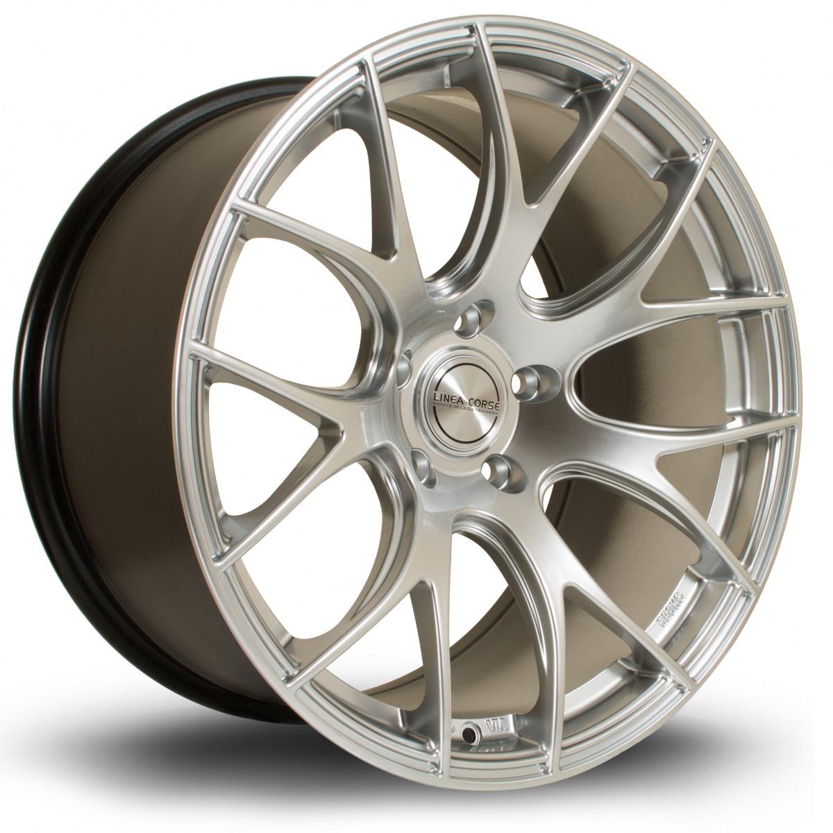 LC818 19x10 5x120 ET37 Hyper Silver