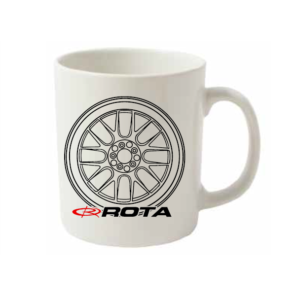 Rota Wheels White Mug