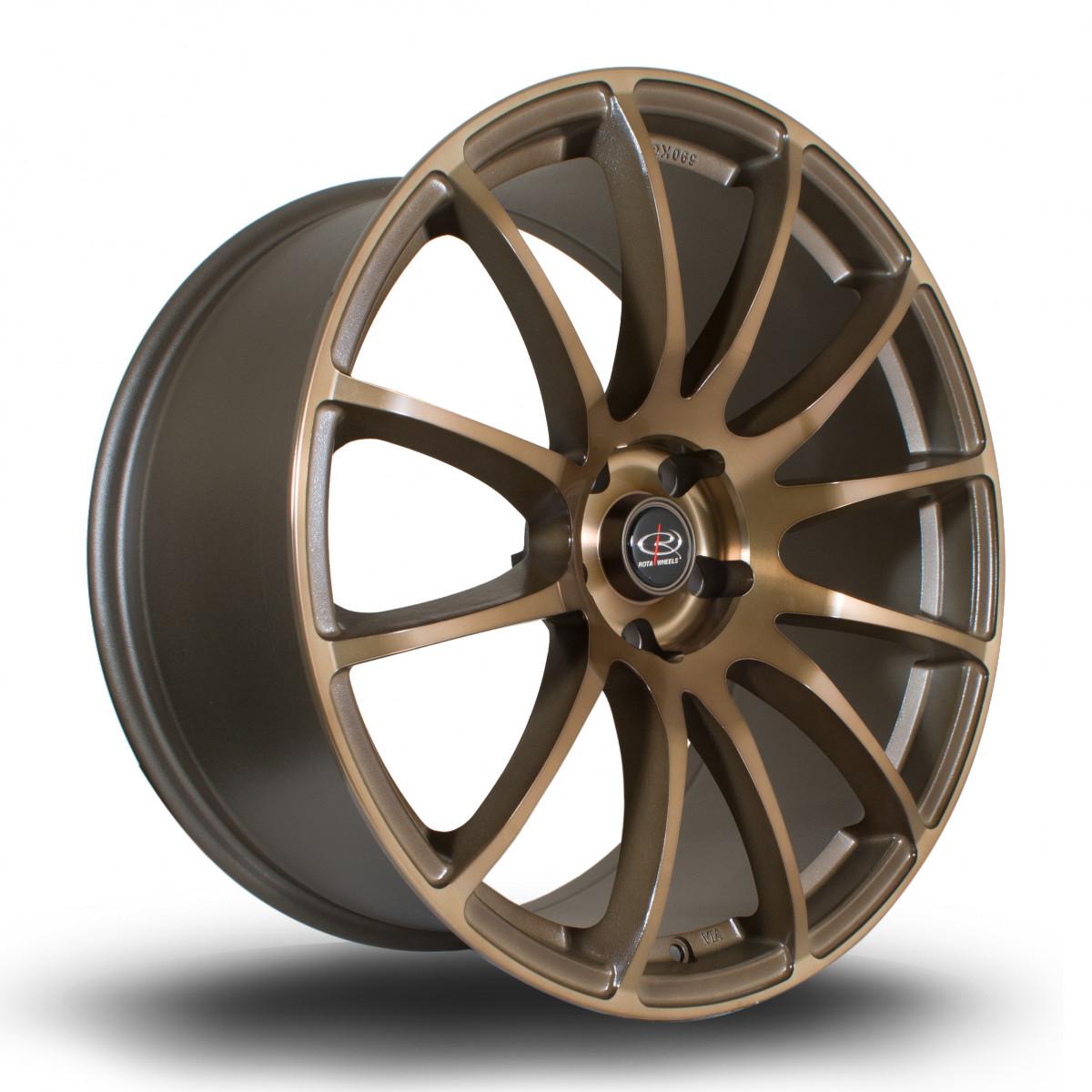 PWR 20x9.5 5x114 ET30 Speed Bronze