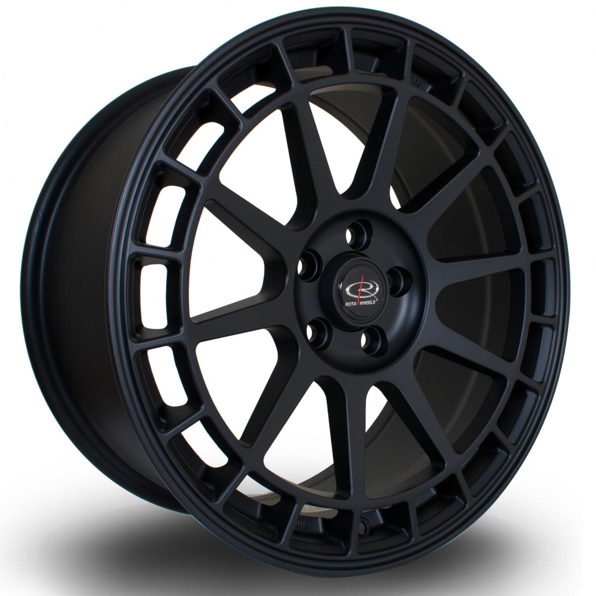 Recce 17x8 4x108 ET40 Flat Black