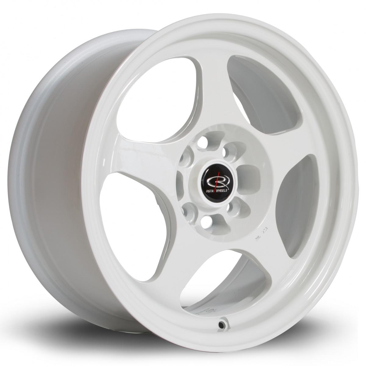 Slip 15x7 4x100 ET28 White