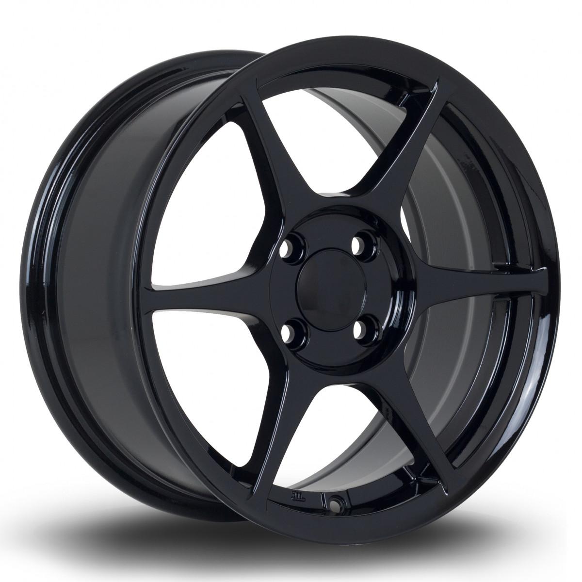 TFS401 15x7 4x100 ET38 Black