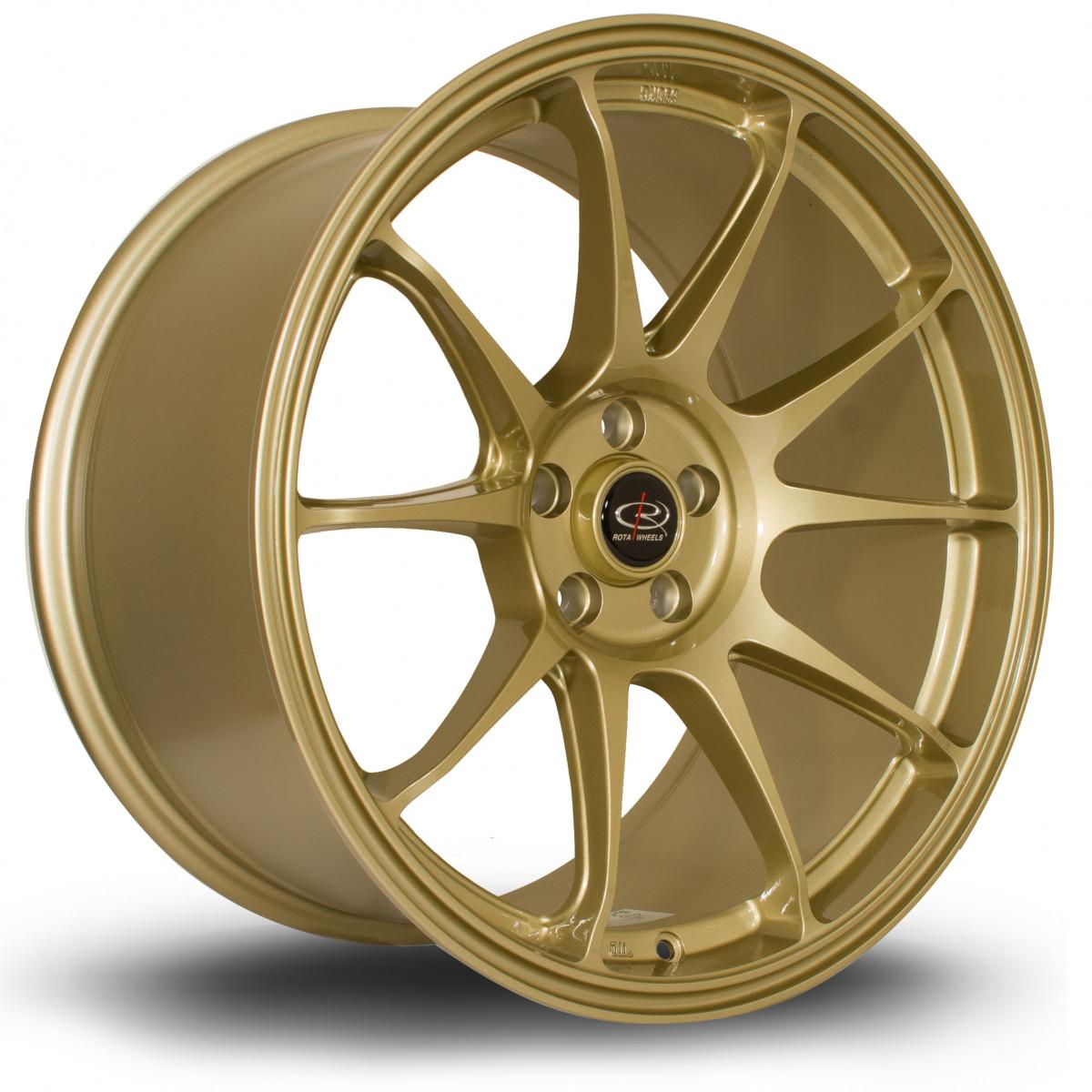 Titan 18x9.5 5x100 ET35 Gold