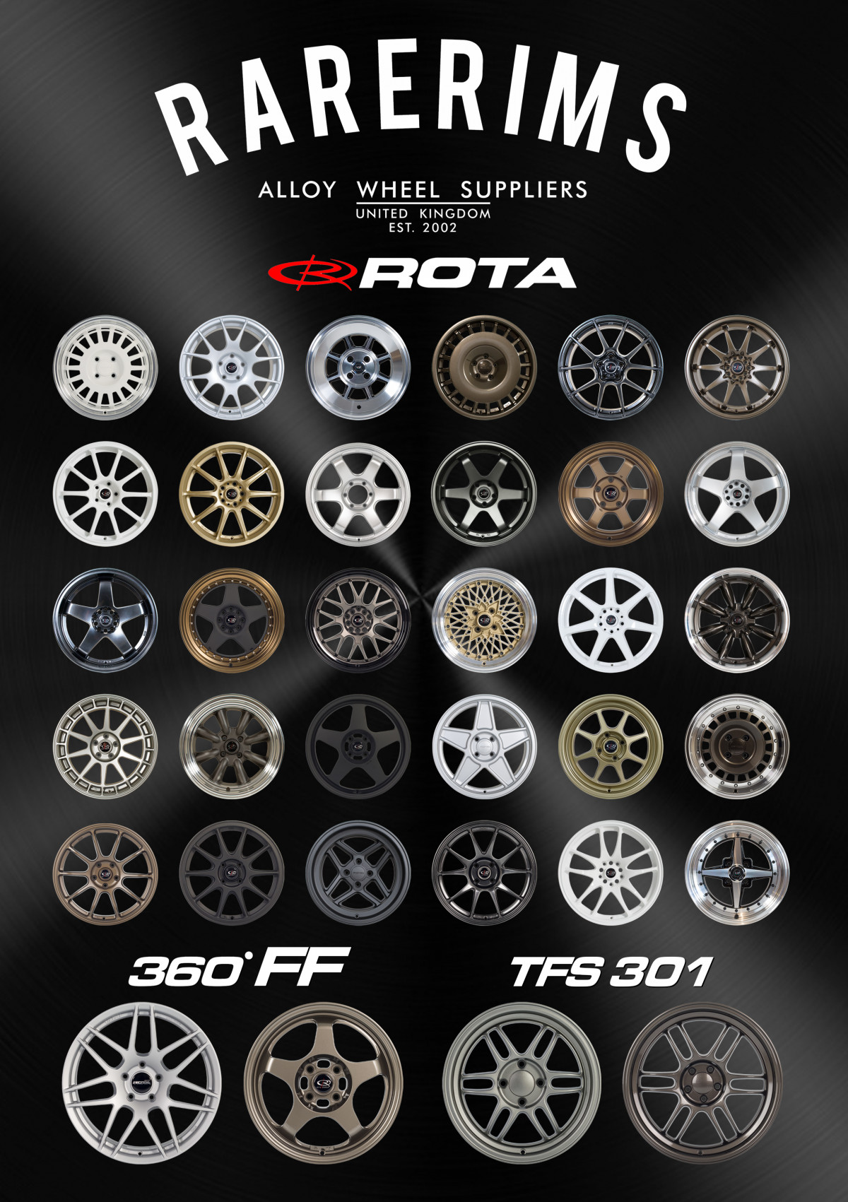 *NEW* 2020 Rota Wheels A1 Poster