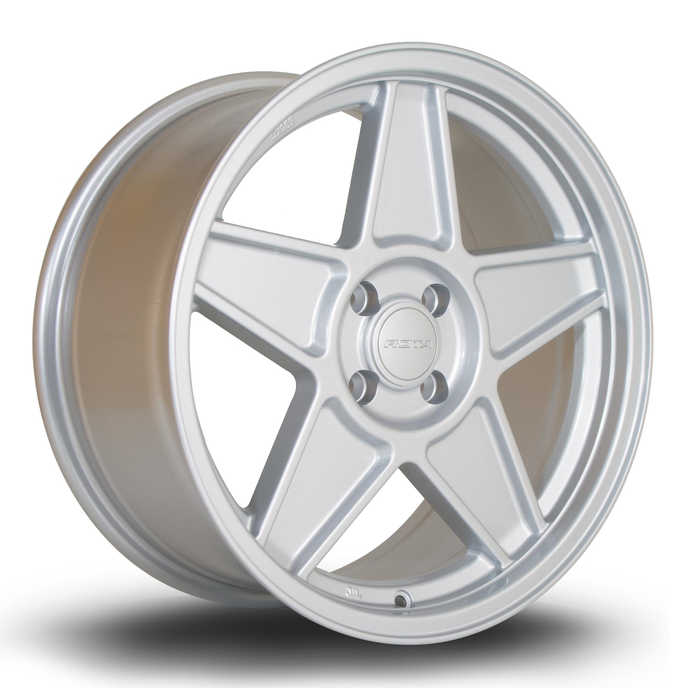RSS 17x7.5 4x100 ET40 Silver