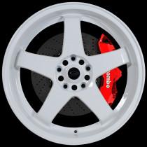 GTR-D 18x10 5x114 ET35 White