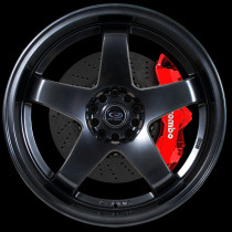 GTR-D 18x9.5 5x114 ET12 Hyper Black