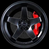 GTR-D 18x10 5x114 ET12 Hyper Black