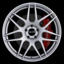 FF01 19x8.5 5x120 ET45 Granite Silver