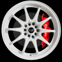 Fight 17x8 5x100 ET48 White