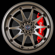 Fight 17x9 5x100 ET50 Matte Bronze 3