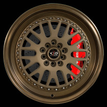 Flush 17x9 5x100 ET25 Speed Bronze