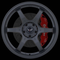 GR6 18x7.5 5x114 ET45 Flat Black 2