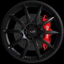 Gra 17x7.5 5x100 ET48 Flat Black