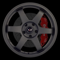 Grid 17x8 4x100 ET35 Flat Black 2