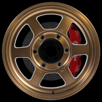 Grid Offroad 15x7 6x139 ET35 Speed Bronze