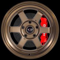 Grid-V 15x9 5x114 ET0 Speed Bronze