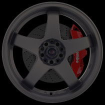 GTR-D 18x10 5x114 ET12 Flat Black 2