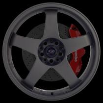 GTR 18x8.5 5x114 ET30 Flat Black 2