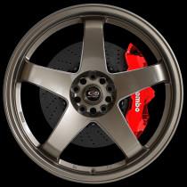 GTR 18x9.5 4x114 ET30 Bronze