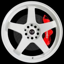 GTR 17x9.5 5x114 ET30 White