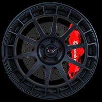 Recce 17x8 5x114 ET42 Flat Black