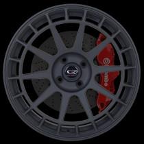 Recce 17x7.5 4x100 ET42 Flat Black 2