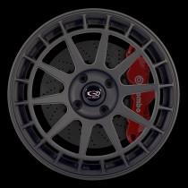 Recce 17x8 4x108 ET40 Flat Black 2