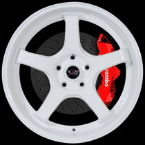 RT5 18x8.5 5x120 ET30 White