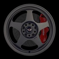 Slip 16x7 4x100 ET40 Flat Black 2