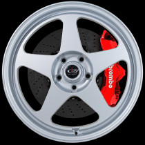 Slipstream 18x8.5 5x100 ET35 Silver
