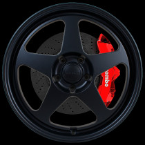Slip 18x10.5 5x114 ET12 Flat Black