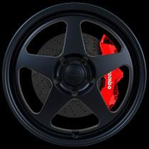 Slip 18x8.5 5x100 ET44 Flat Black