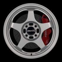 FF10 15x6.5 4x100 ET35 Granite Silver