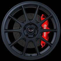 Strike 18x8.5 5x108 ET44 Flat Black