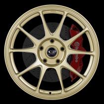 Titan 17x8 5x114 ET42 Gold