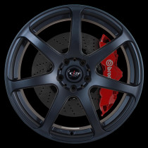 Pro R 19x8.5 5x120 ET30 Flat Black