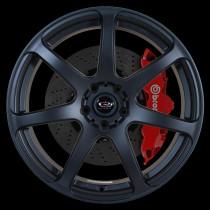 Pro R 19x8.5 5x120 ET45 Flat Black