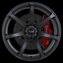 Pro R 19x10 5x120 ET37 Flat Black